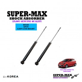 Kia Picanto TA 2011-2017 Rear Left And Right Supermax Gas Shock Absorbers