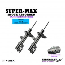 Kia Sportage KM 2005-2010 Front Left And Right Supermax Gas Shock Absorbers